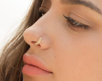 Unique Nose Ring Etsy