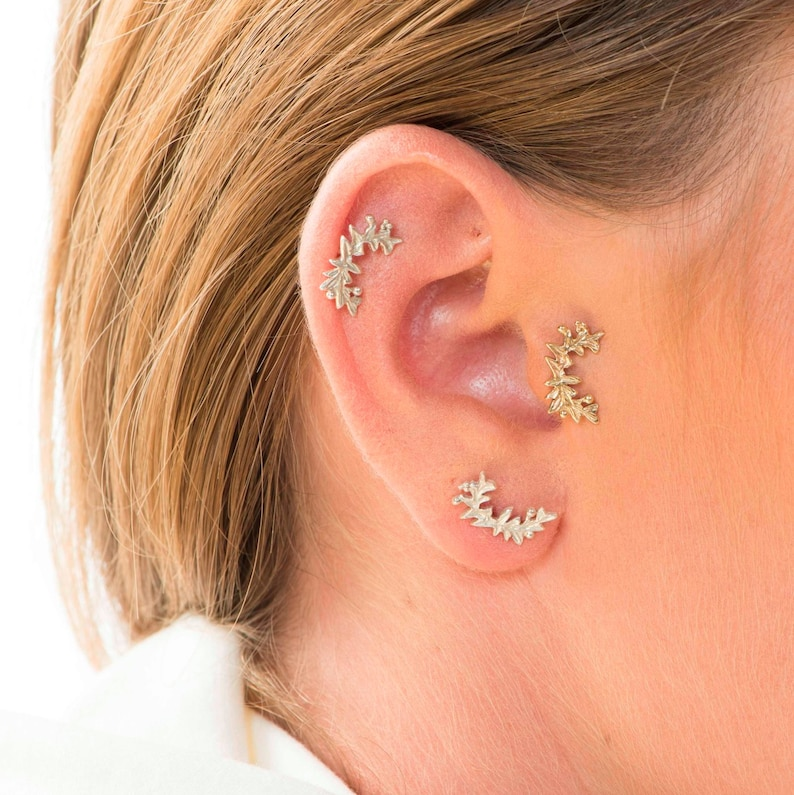 Cartilage Piercing Helix Piercing Jewelry Tragus Piercing Etsy
