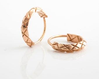 Small Hoop Earrings, Tiny Hoop Earrings, Gold Small Earrings, Rose Gold Small Hoops, Tribal Earrings, Indian Jewelry, Nose Ring, Tragus Ring