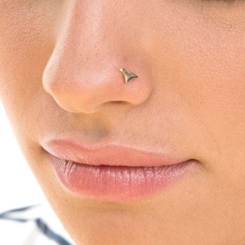 3c41029aa Nose Stud Nose Piercing Small Nose Stud Nose ring Dainty   Etsy