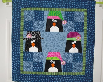 Penguin Paper Pieced Pattern in PDF