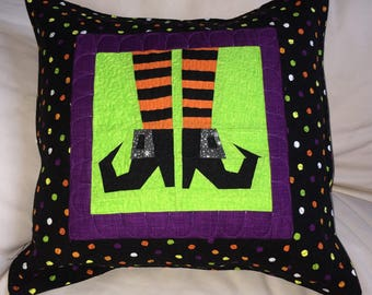 Witchy Pillow Paper Pieced Pattern in PDF