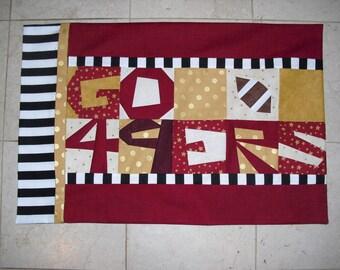 GO 49ERS Pillowcase Pattern