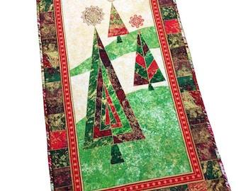 Christmas Tree Runner, Holiday Table Runner, Christmas Tree Runner