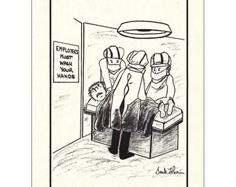 Surgery Humor (set of 6)