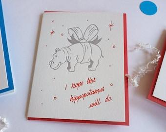 Hope this hippopotamus will do
