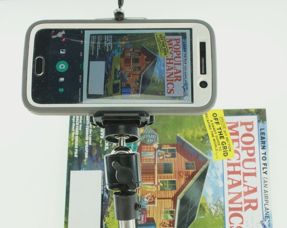 CamStand ® X19 Phone, Camera Scanner Desktop Clamp Mounting System