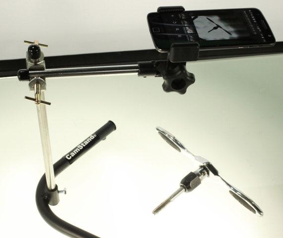 CamStand ® Mini Pro - Desktop WebCam, Sports Camera, SmartPhone Stand / Tripod