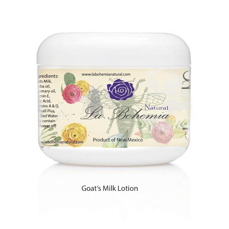 Lavender Organic Goats Milk Lotion 4oz image 0