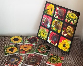 Sunflower Wall Decor, Digital Photography, Hostess Gift, Best Friend Gift, Wedding Gift, Gift For Mom, Gift For Her, Cottage Decor
