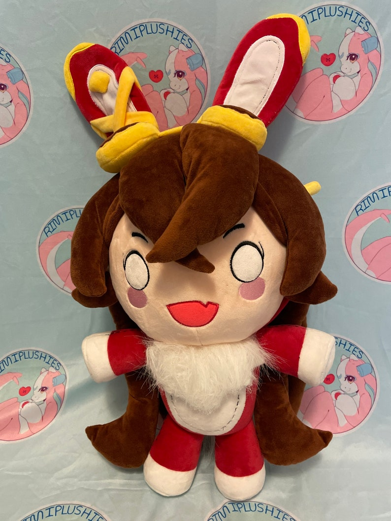 Genshin Impact Baron Bunny 24 Fanmade Plush Preorder image 0