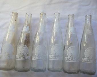 Old pop bottles | Etsy