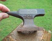Cast Iron WINCHESTER 1929 Mini Anvil Salesman Sample Blacksmith Tool Heavy Anvil