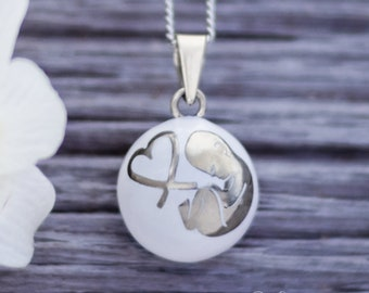 Pregnancy necklace - Harmony ball - Musical necklace - Mom-to-be - Pregnancy - Baby - Babyshower - Growing baby - Maternity - Olfée - Olfee