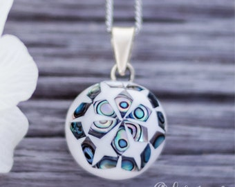 Pregnancy necklace - Harmony ball - Musical necklace - Mom-to-be - Pregnancy - Baby - Babyshower - Shell - Sea - Maternity - Olfée - Olfee
