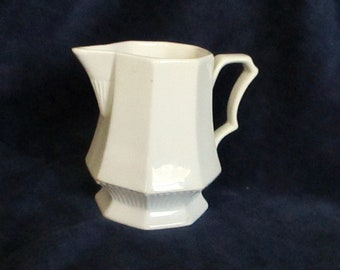 Cream Pitcher Nikko Classic Collection Made in Japan White Creamer