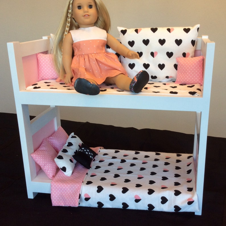 American Girl Day Bed Bunk Bed 18 Inch Doll Etsy