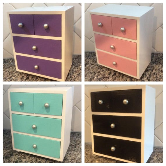 American Girl Doll Dresser With 4 Drawers