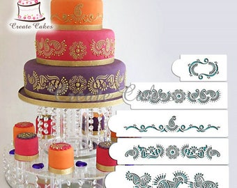 Cake Decorating Stencils Online India Iron Blog