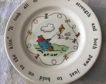 Coalport Paddington Bear Plate