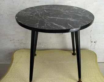 Marble Side Table Etsy - Marble and wood side table