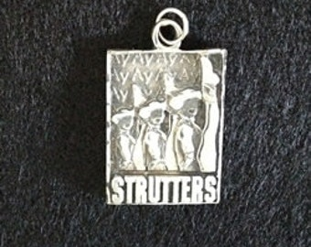 Texas State Strutter Charm