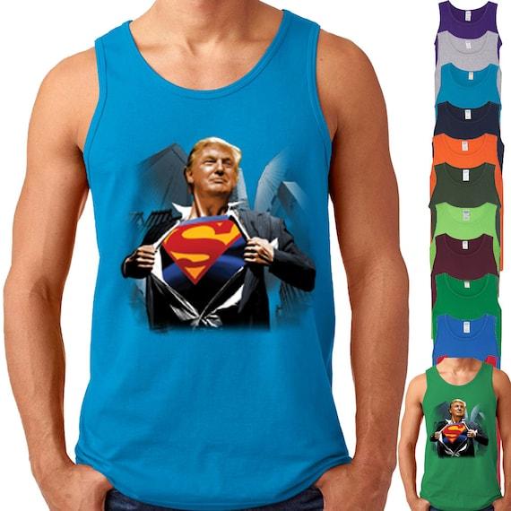 Donald Trump Trumpman Tank Top
