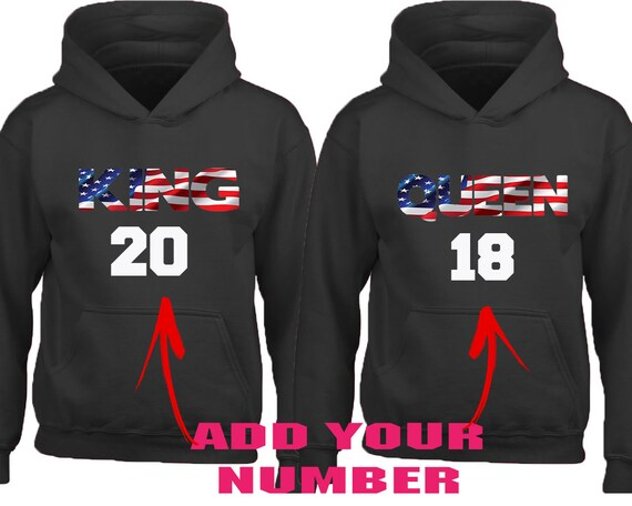 Patriots Custom Personalized Name /& Number Adult Jersey Hooded Sweatshirt