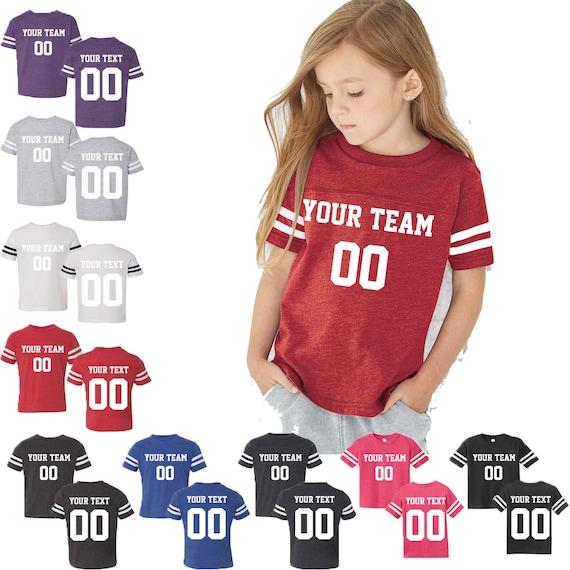 toddler football jersey