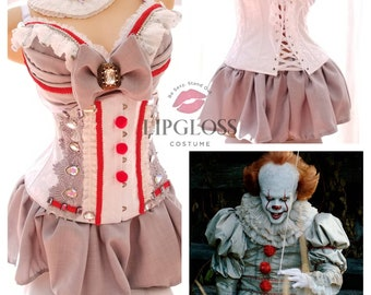 76d2cf1b43 Woman Adult Costume Pennywise