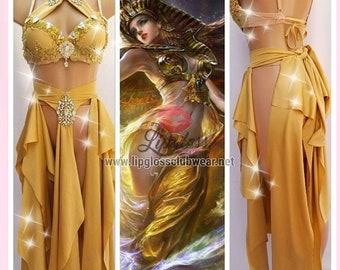 Sexy Goddess Costume, Athena, Greek Goddess, Egyptian Queen Costume, Sexy Medieval Costume, Beauty of the Nile
