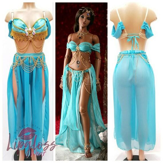 Jasmine Princess Costume Egyptian Princess Costume Princess | Etsy