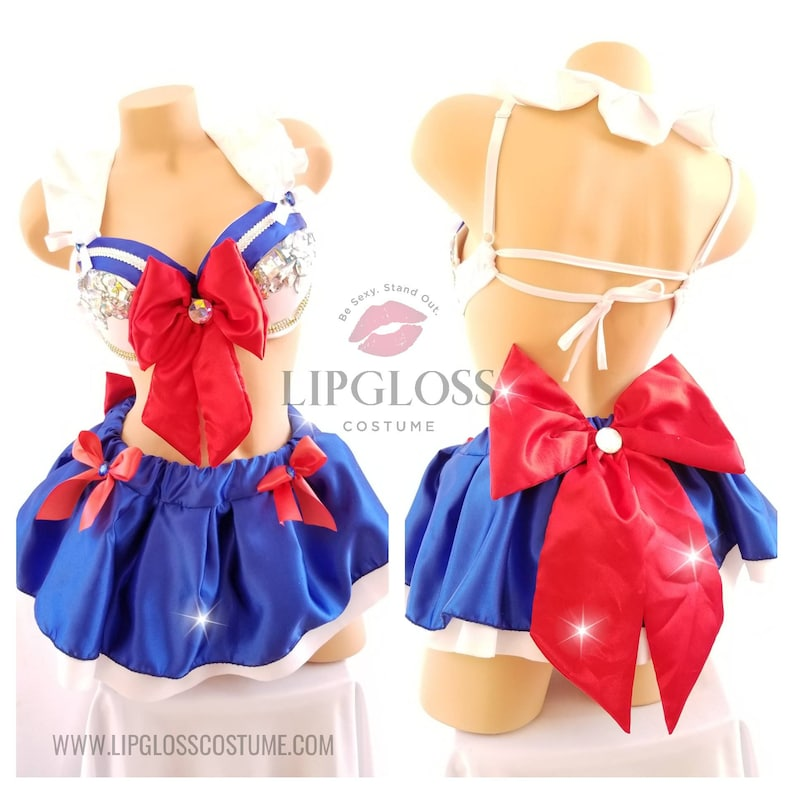Sailor Moon Kostüm Sexy Sailor Moon Kostüm Erwachsene Etsy