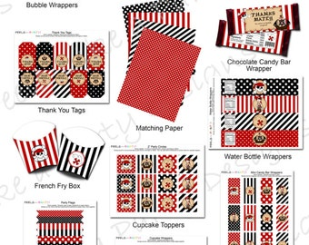 Pirate Party Pack - Instant Download