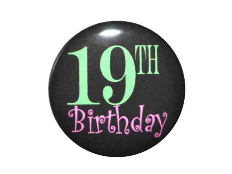 19 Jaar Oud 19e Verjaardag Viering Gelukkige Verjaardag 2 1 4 Etsy