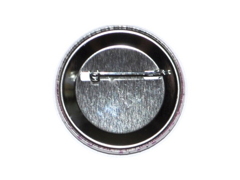 Initial button ID button personalized button 2 14 inch button with initial