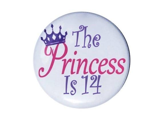 14 Geburtstag Der Prinzessin Ist 14 Jahre Alt Geburtstag Etsy