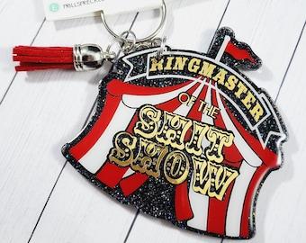 Keychain // Acrylic // Circus// Ringmaster