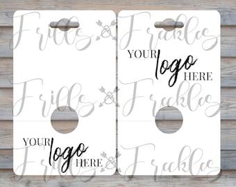 DIGITAL FILE // SVG // Display Card // Phone Grip Display Card // Hanging Display Card