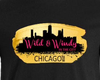 T-Shirt // Event // Wild & Windy In The City