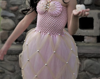 a5ff71c9f03d4 Mermaid costume dress, Ariel Tutu dress, little mermaid tail tutu dress, under  the sea birthday dress, little mermaid birthday tutu dress