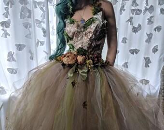 deb5e45ac Nature elemental fairy dress