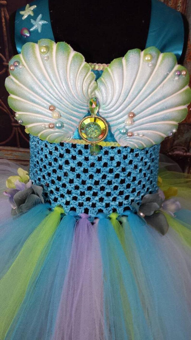 9e7ad1725f9b8 Mermaid princess tutu dress little mermaid tutu dress under | Etsy