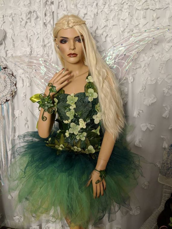 ea6e183ca9a4e0 Réaliste fée clochette adulte costume robe robe de costume de   Etsy