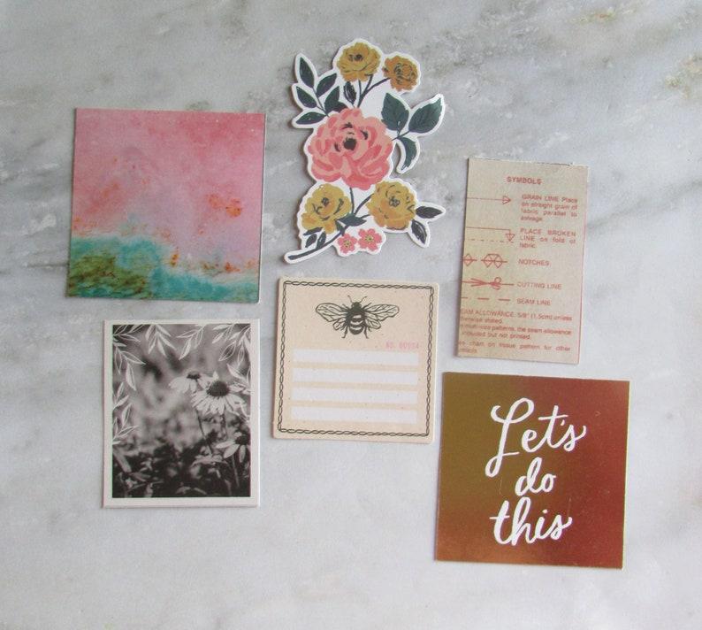 Maggie Holmes Marigold Crate Paper Fresh Bouquet and October Afternoon Vintage Warm Ephemera Pack  Warm Toned Vintage Ephemera Pack