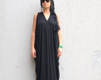 kaftan summer dress, maxi loose dress, extravagant dress, long open back dress, maternity long dress, maxi summer dress, oversize tunic