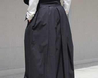Loose skirt, high waisted skirt, skirt with pockets, maxi skirt, maxi skirt pockets, gypsy long skirt, long gypsy skirt, gypsy skirt