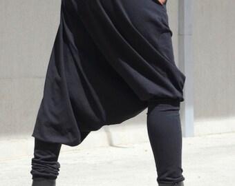 NINJA PANTS - TRIBAL Women Pants - Modest Harem Women Pants - Leggings Wide Leg Party Wear Pants - Hippy Comfy Pants