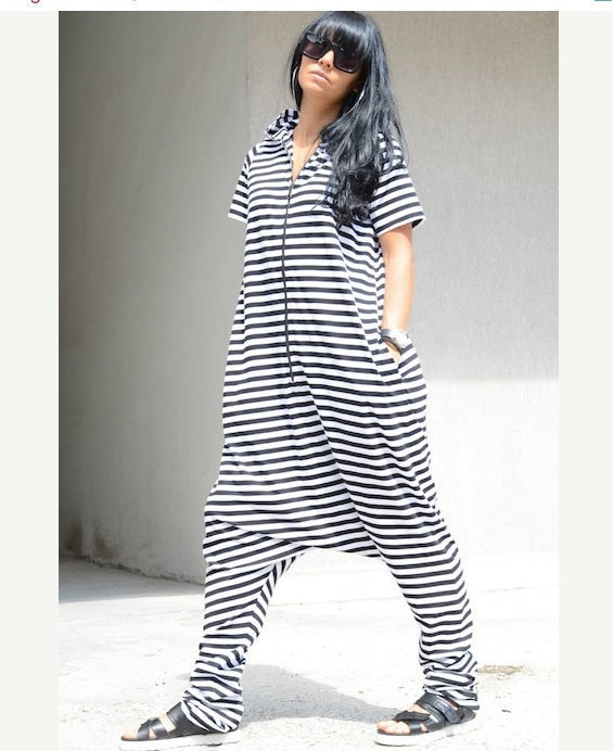 a5df4b57ac68 Hooded Harem Jumpsuit