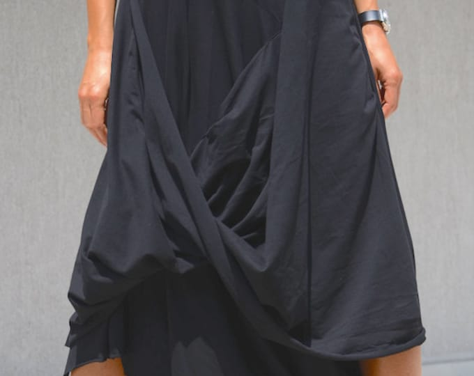Featured listing image: KAFTAN MAXI DRESS - Stylish Dress - Asymmetric Dress - Plus Size Maxi Urban Style Dress - Summer Luxury Clothing - Cute Girl Dress Gift